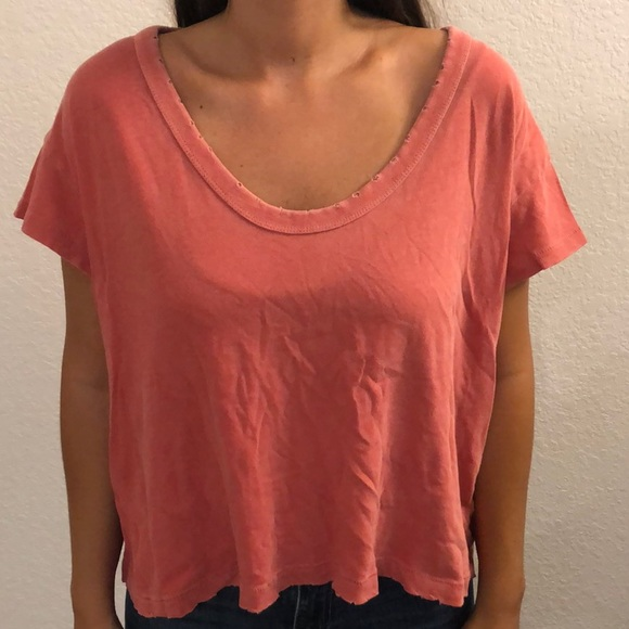 BDG Tops - Loose fitting washed tee from urban outfitters